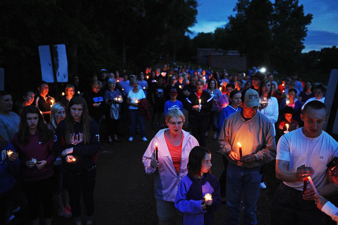 Joey Cavallaro Candlelight Vigil